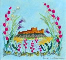 Bamburgh Castle for printing