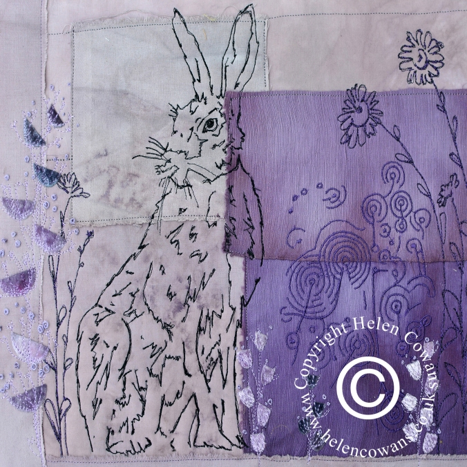 Purple Hare copyright
