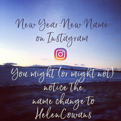 instagram name change